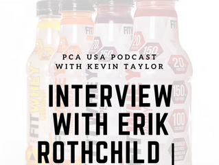 PCA USA Podcast: Episode Eleven | An Interview with Erik Rothchild from FitWhey