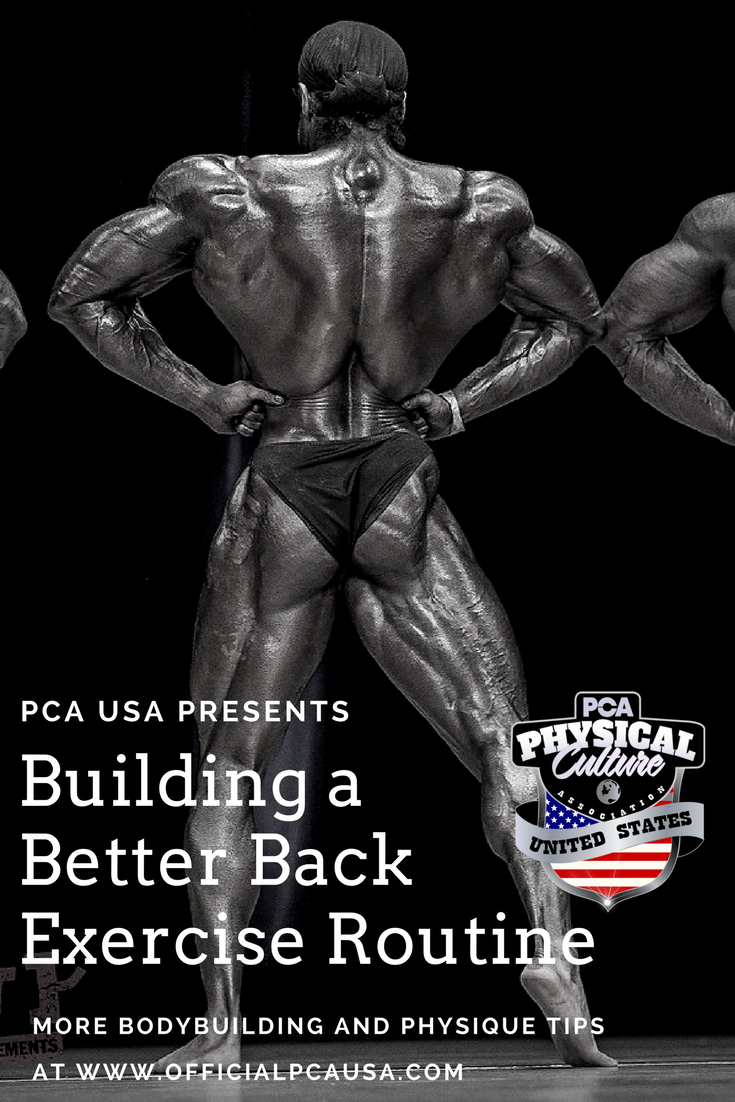 Build a Better Back - Back Exercises from PCA USA
