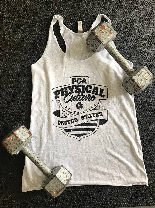 Women's - PCA USA Grey/Black stringer #PCAARMY