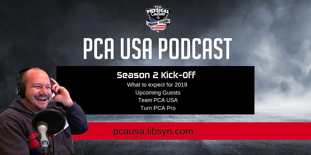 PCA USA Podcast Season 2