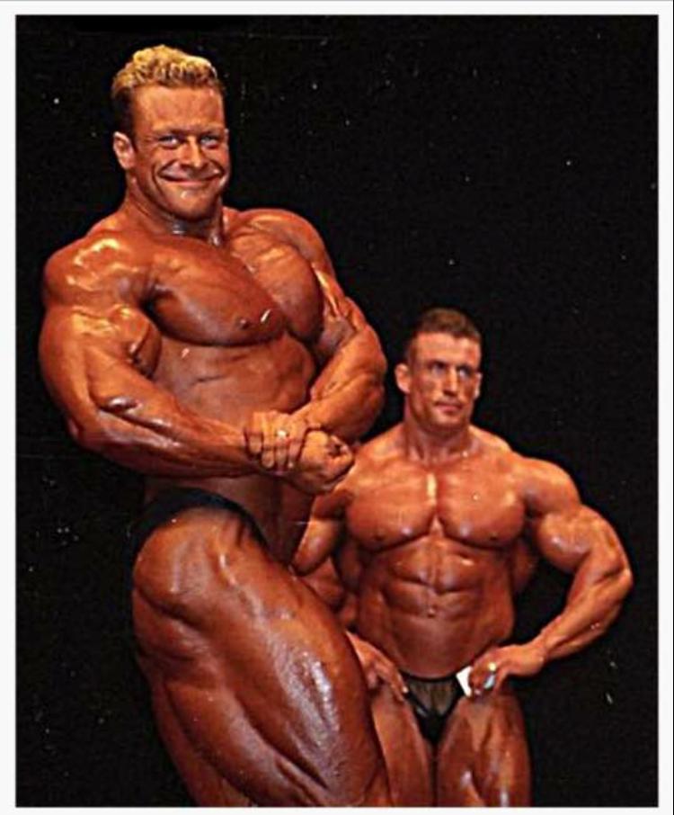 Ian Harrison and Dorian Yates