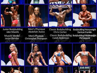 2018 PCA USA Florida Classic Bodybuilding and Physique Event | Winners and Invitations to Team USA
