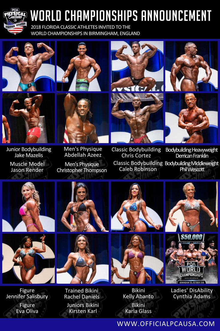 Florida Classic World Championships Invitations