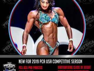 PCA USA Updated 2019 Competitive Classes