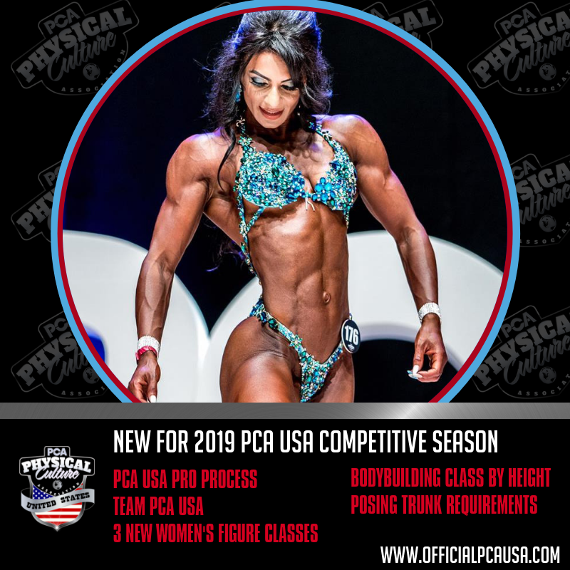 What's New for 2019 Competitive PCA USA Season