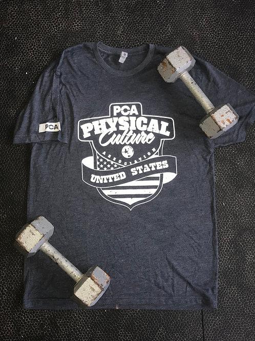 PCA USA on Navy/Gray T-Shirt