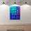 "Thumbnail: Lily Plaid | 22"" x 28"" Acrylic on Canvas | Brandy Kenimer"