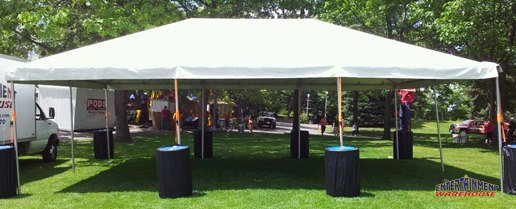 20'x30' Frame Tent (Seats up to 75)
