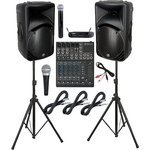 P.A. Sound System Rental in Spokane