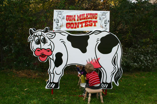 Cow Milking Contest Game for parties