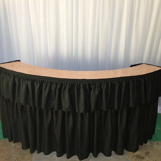 Portable 6 ft. bar counter for rent