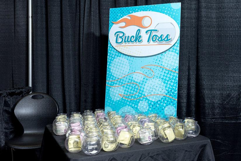Buck toss party game rental