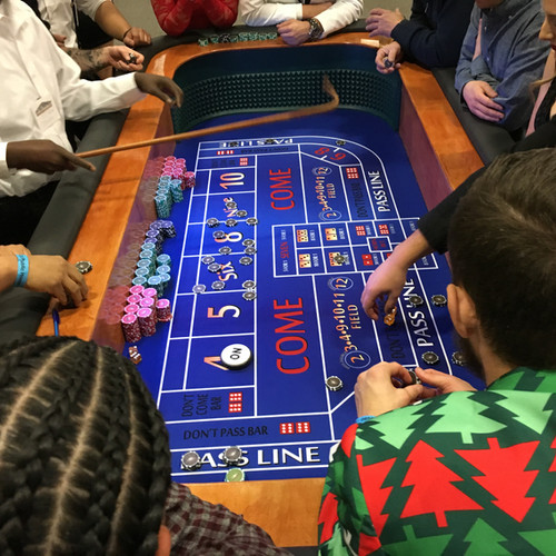 Craps table casino game for rent