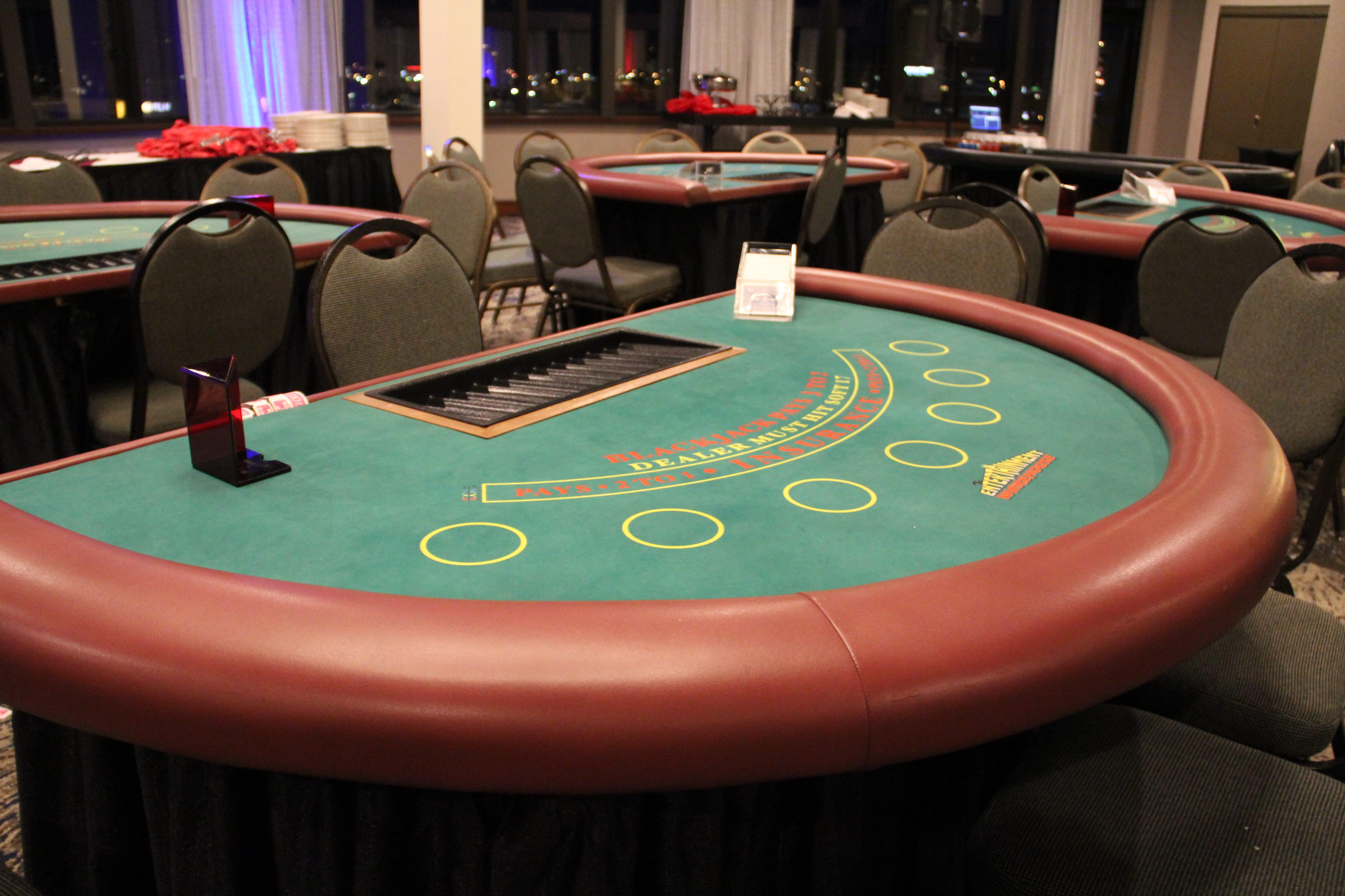 Blackjack Table Rentals