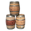 Wine barrels for rent
