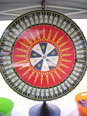 Prize/Money Wheel