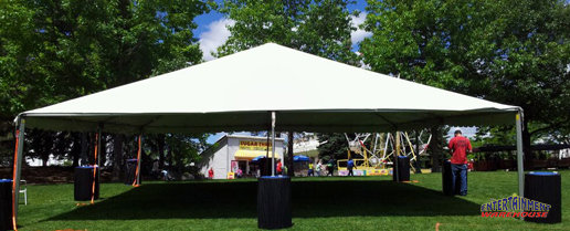30'x30' Event tent for rent in Spokane