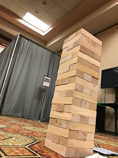 Giant jingo game for parties