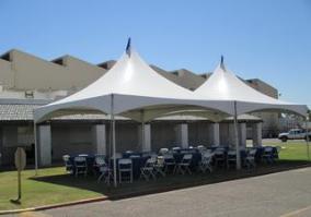20ft. X 40ft. High Peak Frame Tent configuration