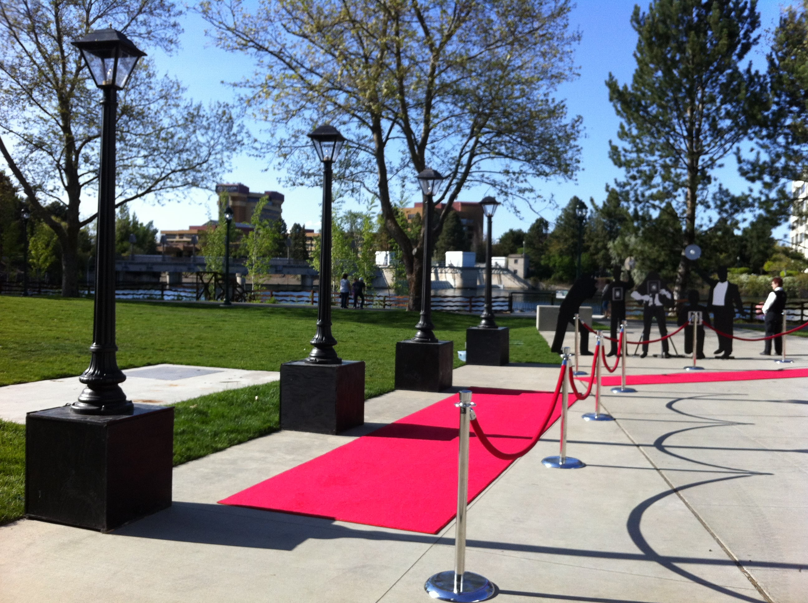 Red Carpet, event lighting
