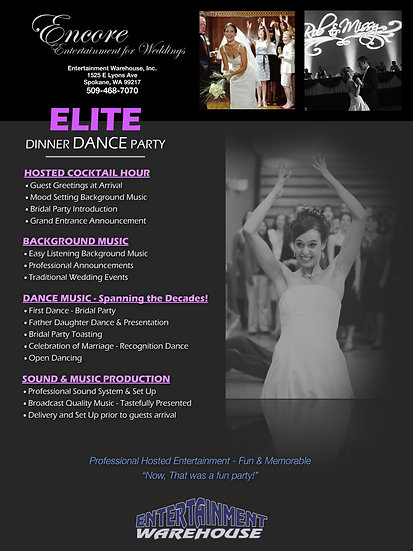 ELITE Dinner Dance Party