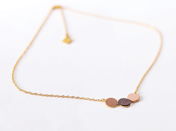 Collier TRIO argile