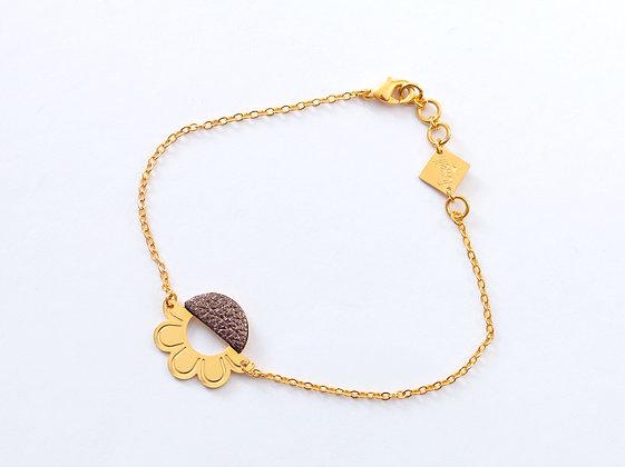 Bracelet TANIS brun cosmique