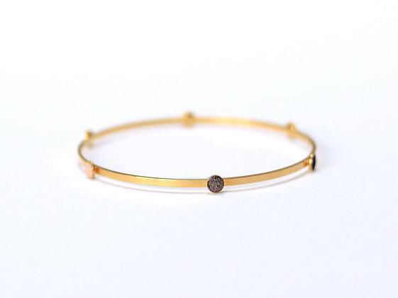 Bracelet PEPITA brun cosmique