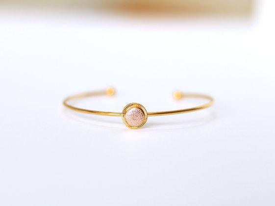 Bracelet MAOU or rose