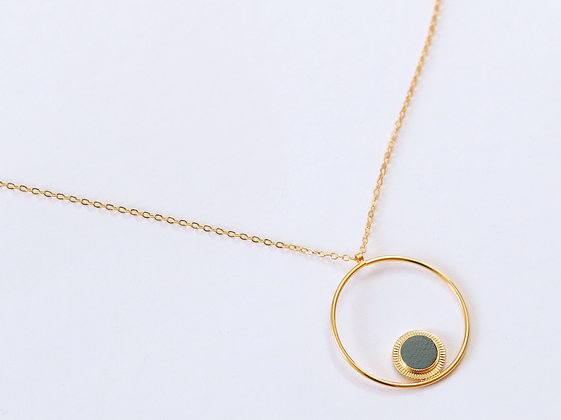 Collier MAOU RING sauge