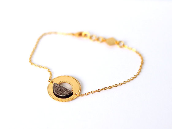 Bracelet NEOLICHT brun cosmique