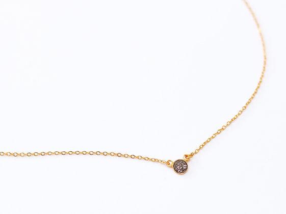 Collier PEPITA brun cosmique