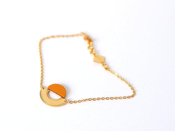 Bracelet LICHT curcuma