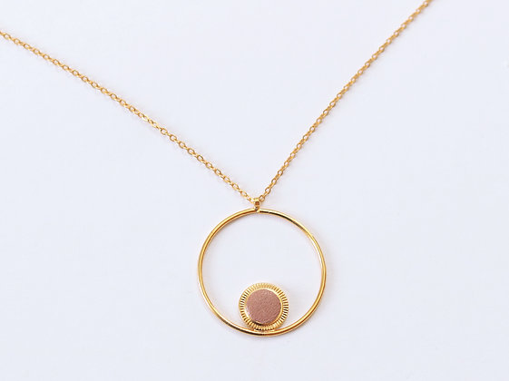 Collier MAOU RING argile