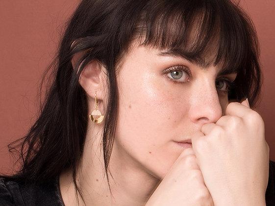 Boucles d'oreilles LICHT poudre