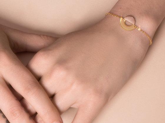 Bracelet LICHT or rose