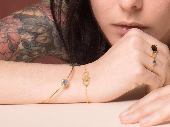 Bracelet MAOU bleu princesse