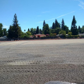 Grading Permeable Rock for Artificial Turf Field