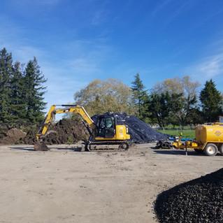 Excess Dirt Stockpile