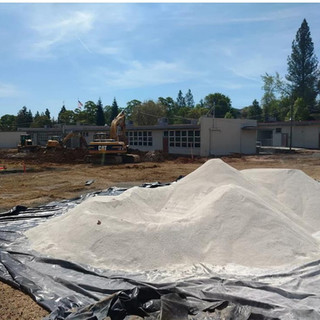 Dry Out Site With Lime