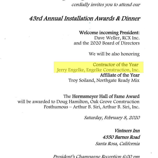 Awards Invitation