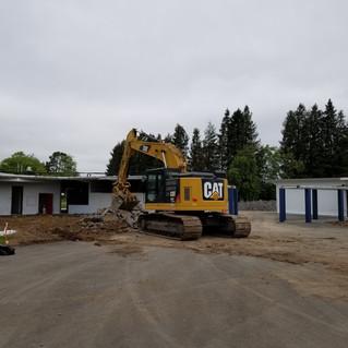 Courtyard Demolition