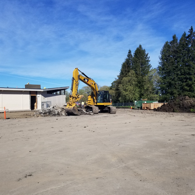 Our Cat 335 Excavator