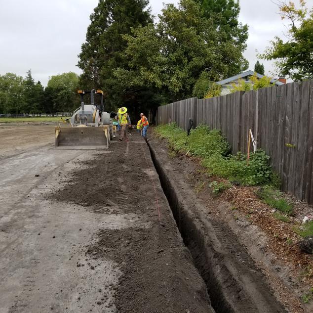 Jerod's Crew Installs Concrete Moisture Cutoff Trenches