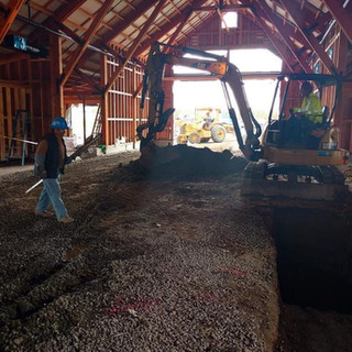 Over Ex & Recompact in Old Barn