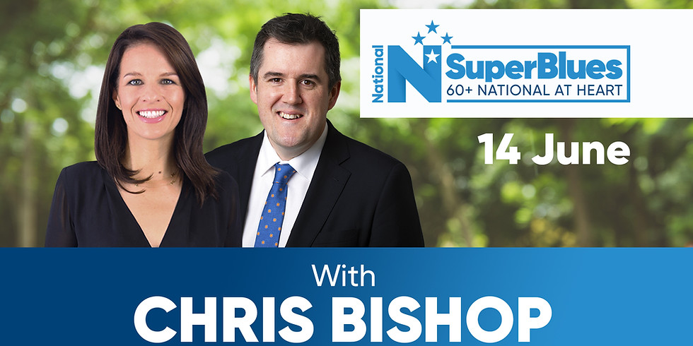 SuperBlues with Chris Bishop