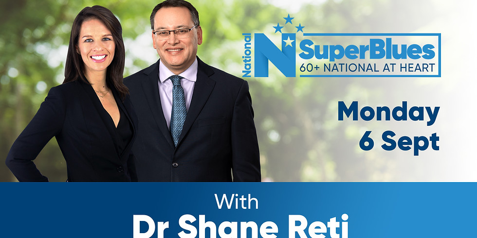 SuperBlues with Dr Shane Reti