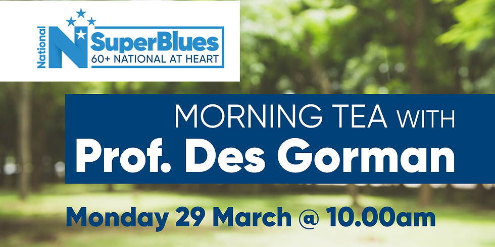 SuperBlues with Prof. Des Gorman