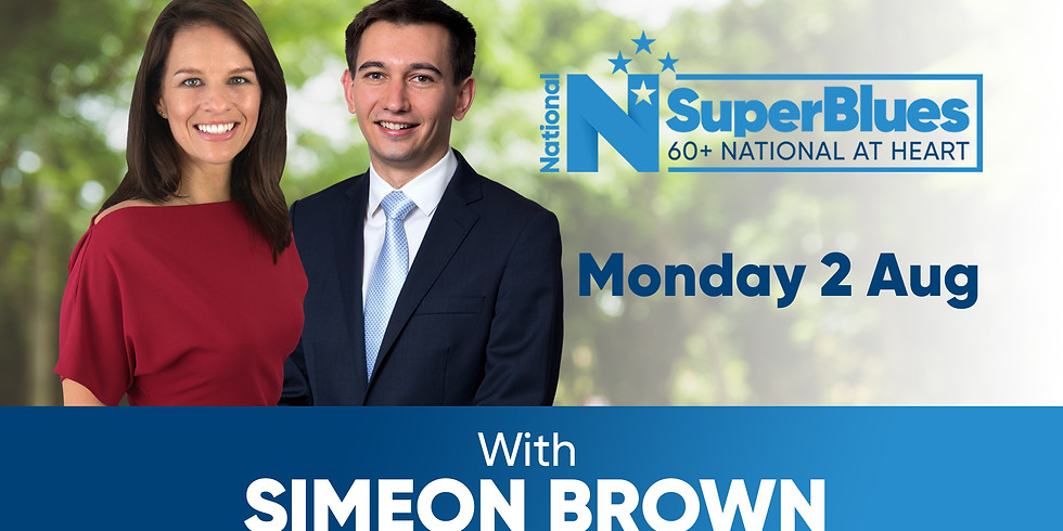 SuperBlues with Simeon Brown