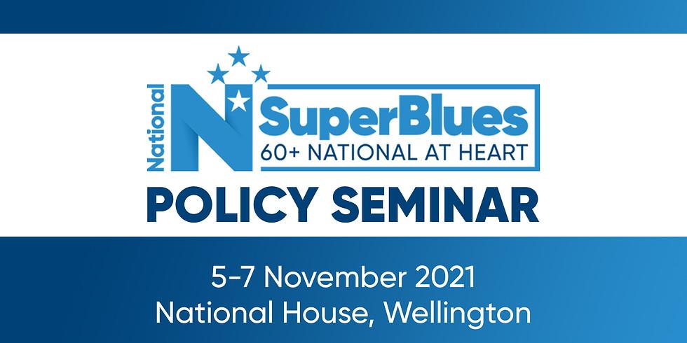 SuperBlues Policy Seminar
